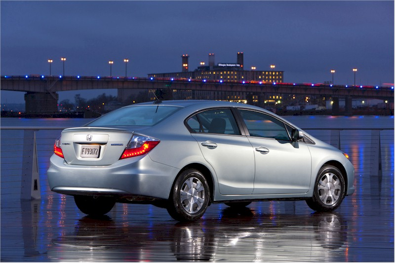 2012 Civic hybrid rear