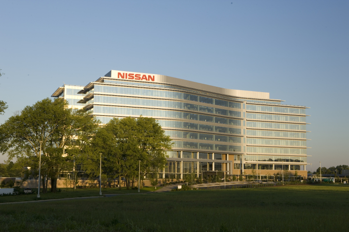 Nissan facilities in Franklin, Tennessee