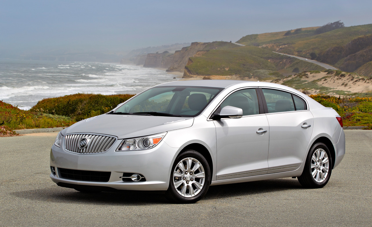 2012 Buick LaCrosse with eAssist technology