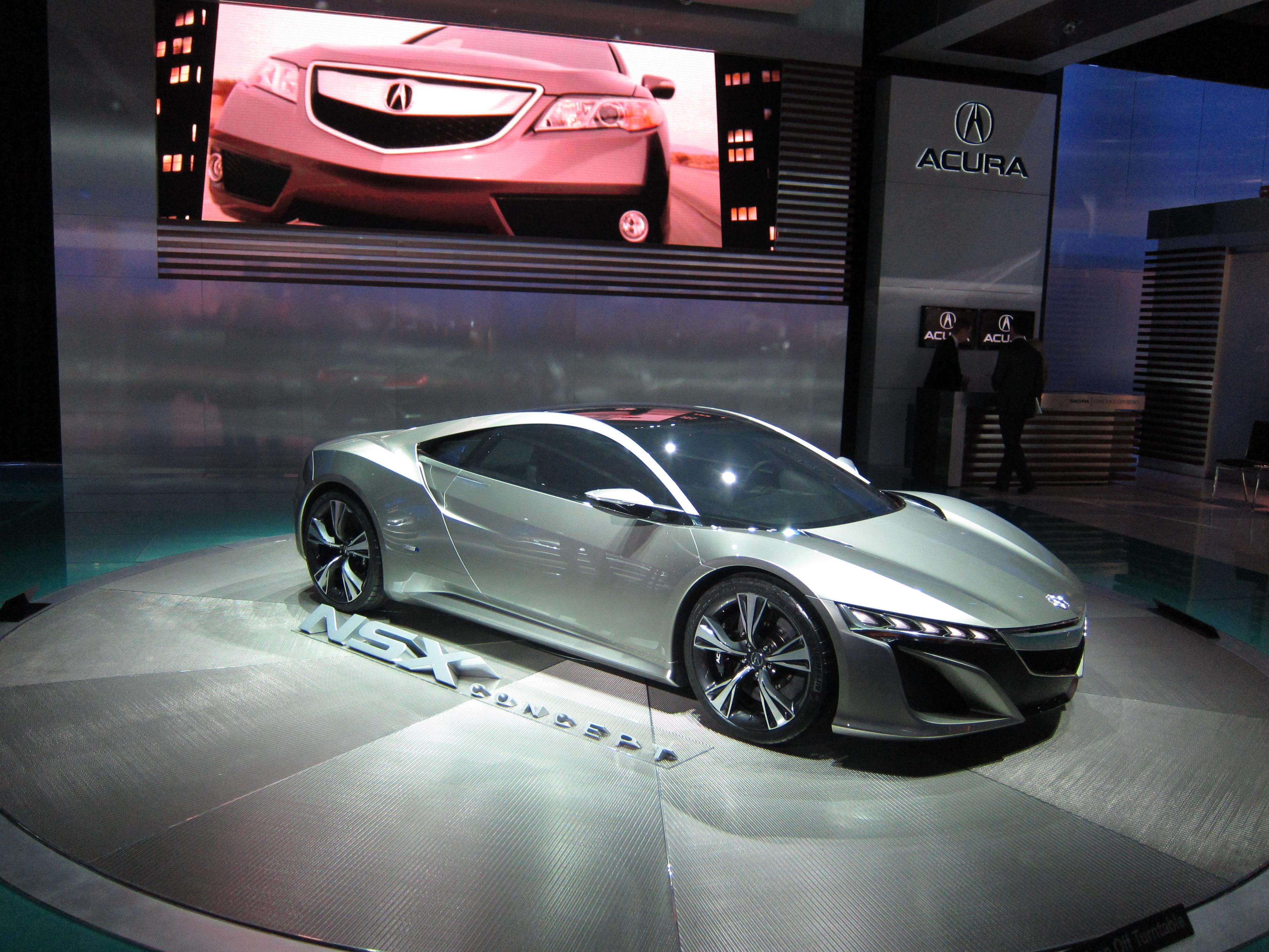 Acura NSX, 2012 Detroit Auto Show