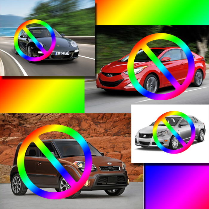 Hyundai, Kia, Porsche, Suzuki: not gay-friendly