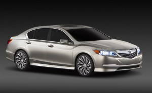 2013 Acura RLX Concept: Luxurious, Sporty, And Green