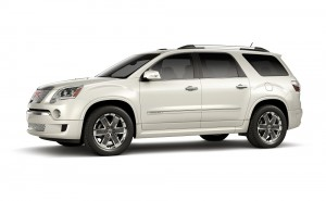 2012 GMC Acadia Denali: Luxury On A Large Scale