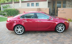 2012 Buick Regal GS: Paint It Black