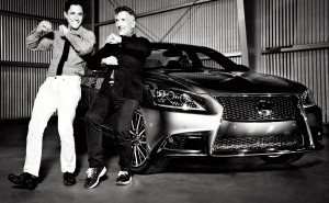 2013 Lexus LS Campaign Taps Power Couple Jonathan Adler & Simon Doonan