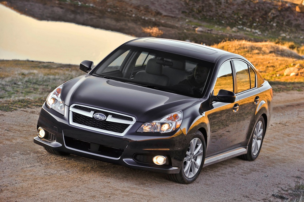 With The 2013 Subaru Legacy, Subaru Explores Its Indiana Roots ...