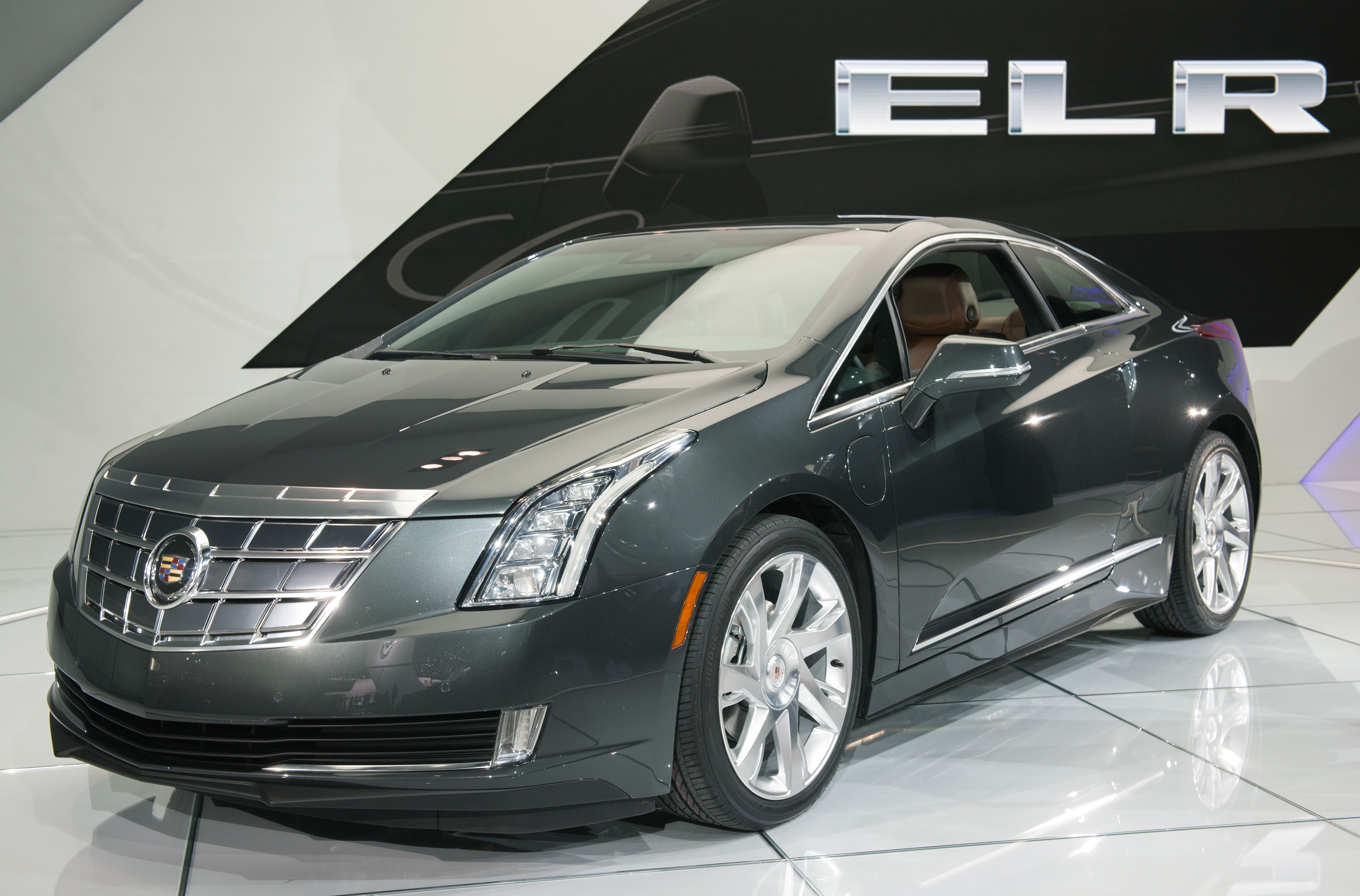 The 2014 Cadillac ELR wins the Eyes On Design Best Production Vehicle Award Tuesday, January 15, 2013 at the North American International Auto Show in Detroit, Michigan. (Photo by Steve Fecht for Cadillac)