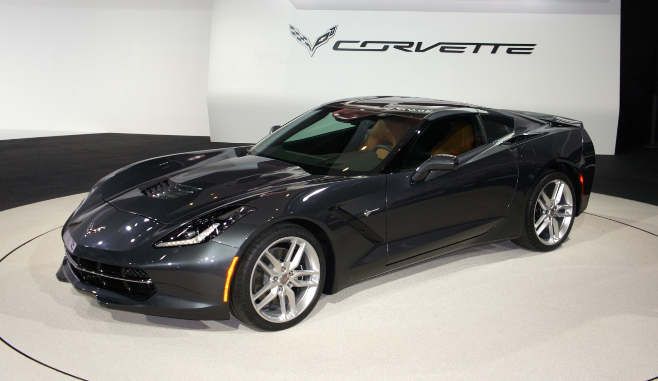 2014 Chevrolet Corvette at the 2013 Detroit Auto Show (photo by Sam Miller-Christiansen)
