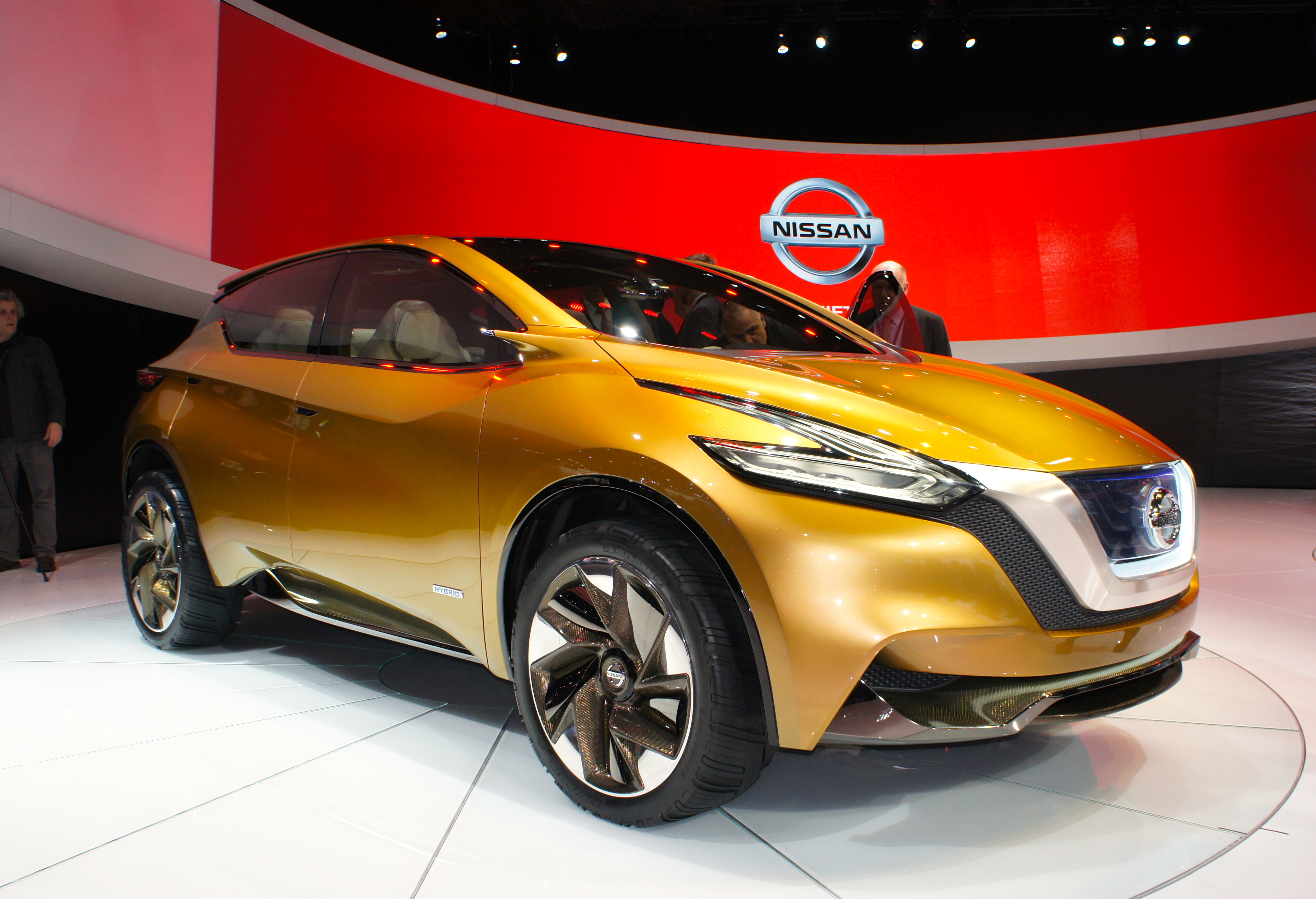 Nissan Resonance Concept at the 2013 Detroit Auto Show (photo by Sam Miller-Christiansen)