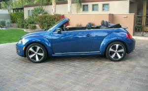 2013 Volkswagen Beetle Turbo Convertible Turns Heads In California