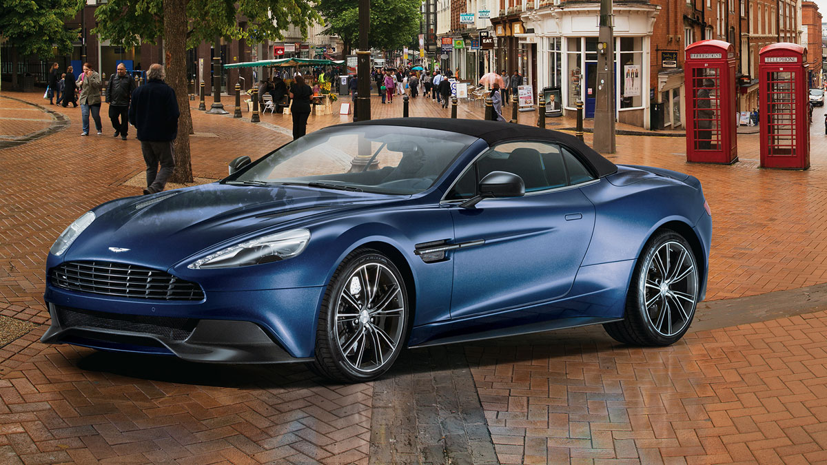 Aston Martin Vanquish in 2013 Neiman Marcus holiday catalog