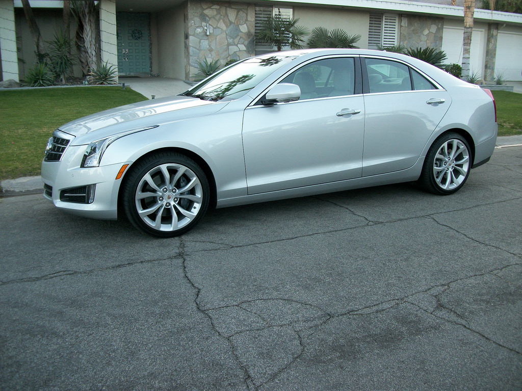 2014 Cadillac ATS (photo by Jeff Stork)