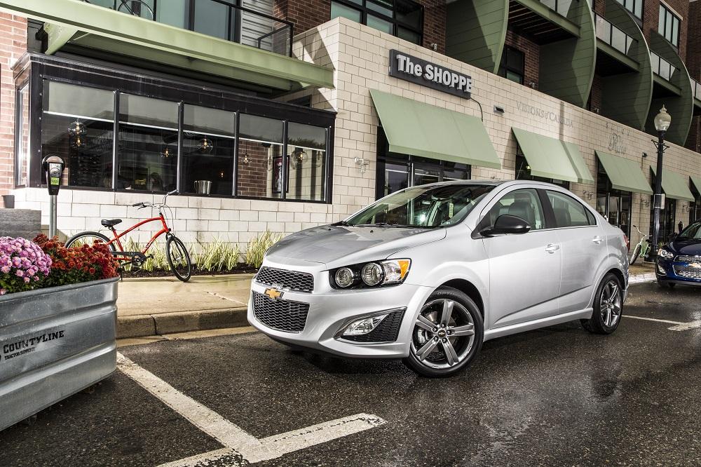 2015 Chevrolet Sonic RS Sedan