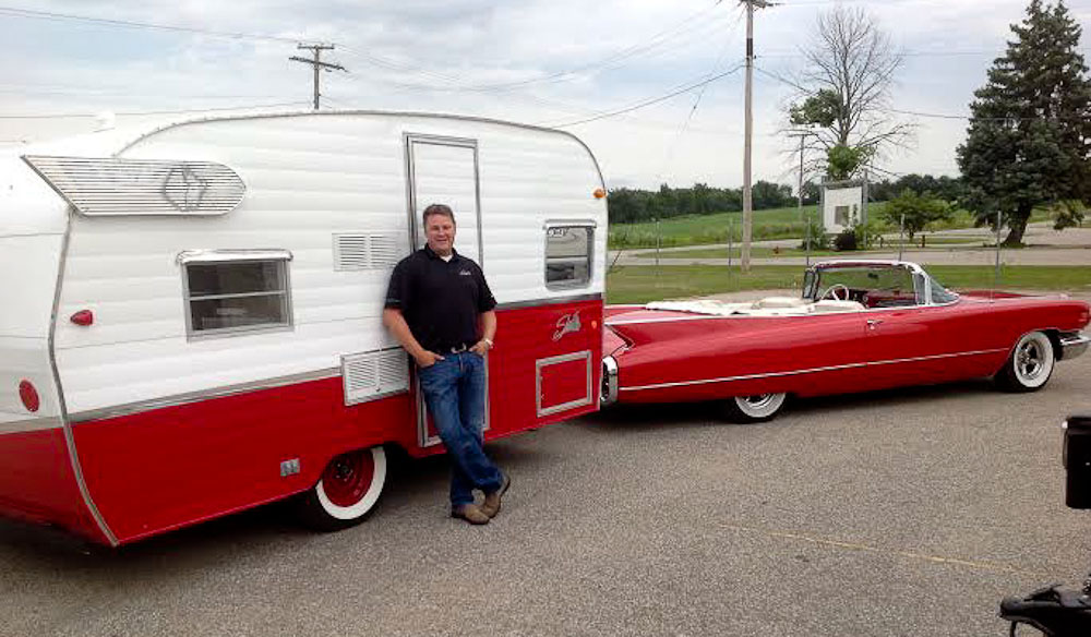1961 Shasta Airflyte RV, reborn (with CEO Mark Lucas)