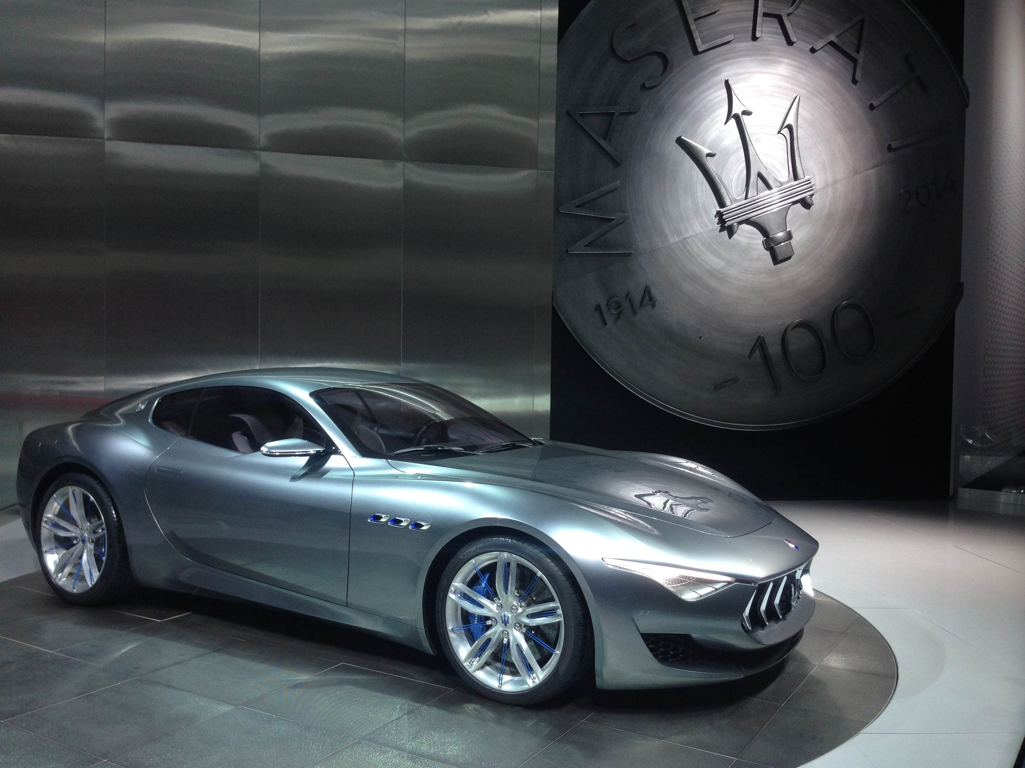 Maserati Gran Turismo at the 2015 North American International Auto Show