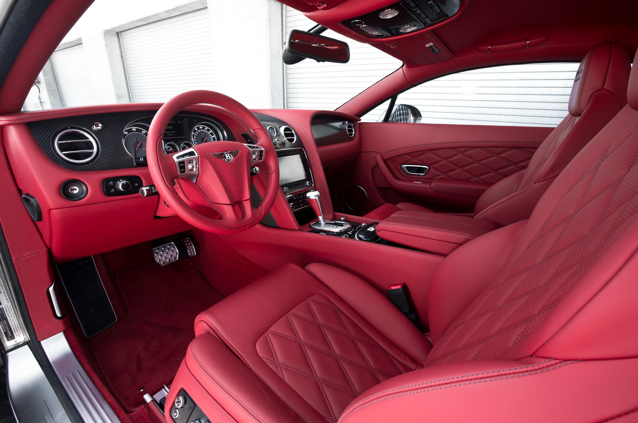 Bentley Pink Leather Gaywheels